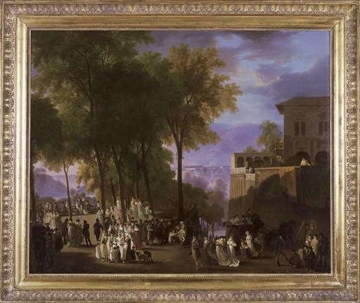 La Promenade de la Treille à Genève, um 1820
