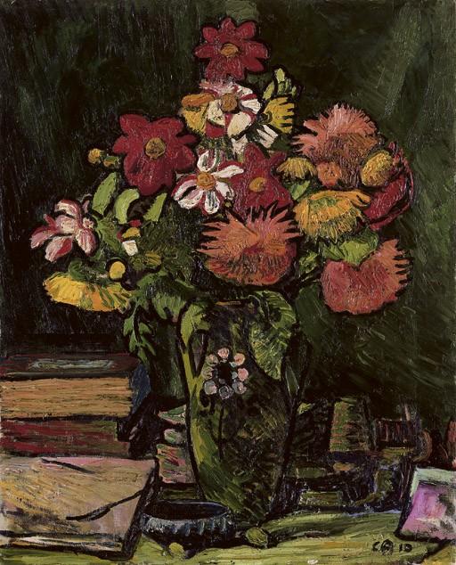 Blumenstillleben, 1910