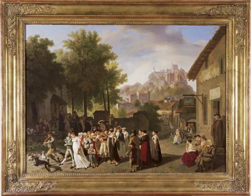 Noce villageoise (au Cheval Blanc), 1816
