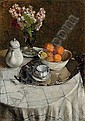 Still Life with Oranges, Alessio Issupoff, Click for value