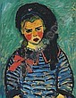 Mädchen mit roter Schleife, Alexei Jawlensky, Click for value