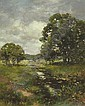 Landscape with Stream, Percy Moran, Click for value