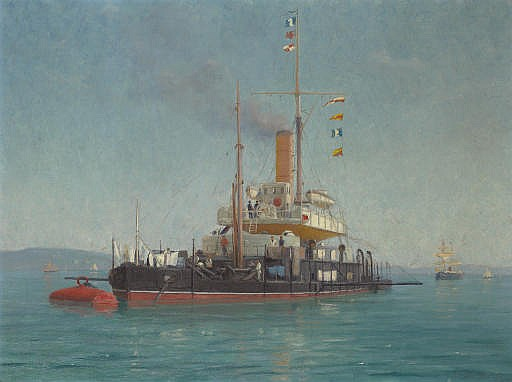 Going Into Port