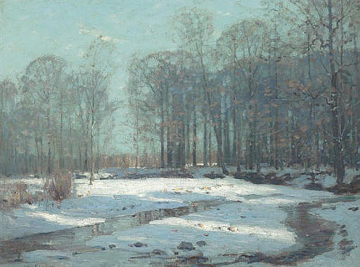 The Sawkill in Winter