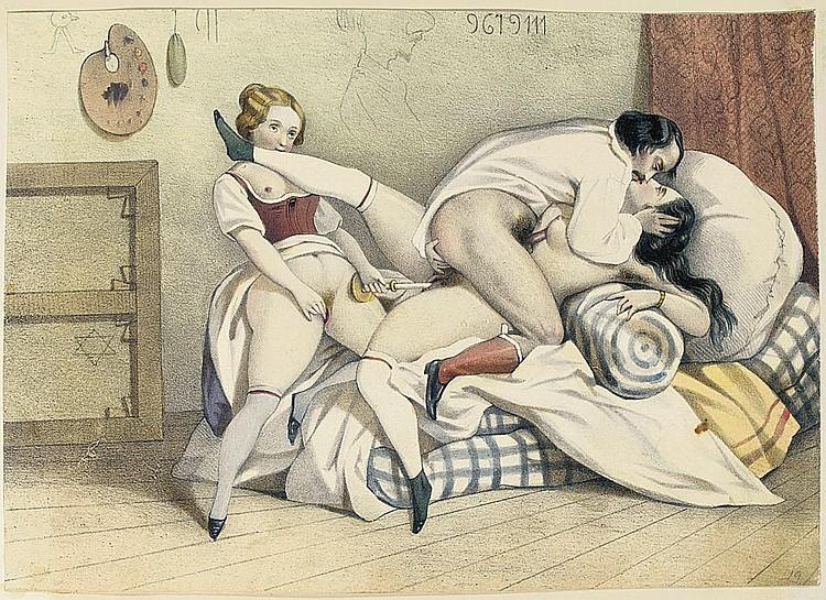 винтажная ретро эротика и порно фото