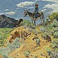 The Watcher , Walter Ufer, Click for value
