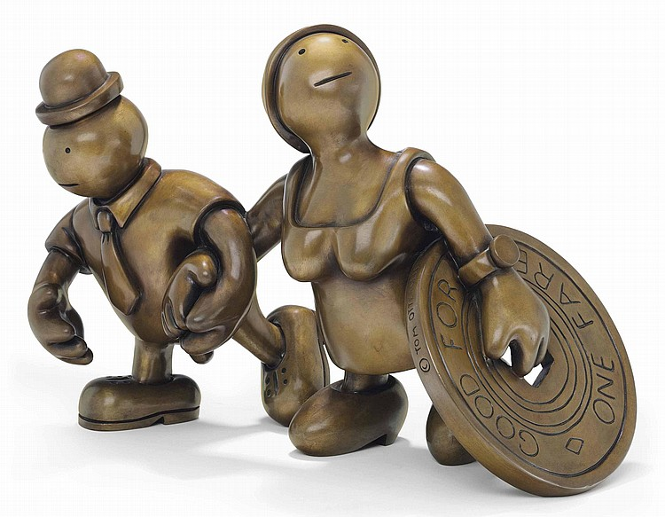 Tom Otterness (b. 1952)