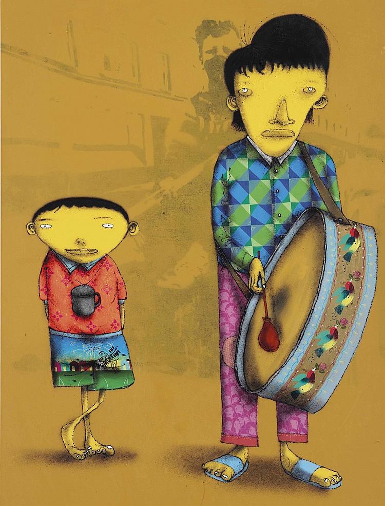 Os Gemeos (B. 1974)
