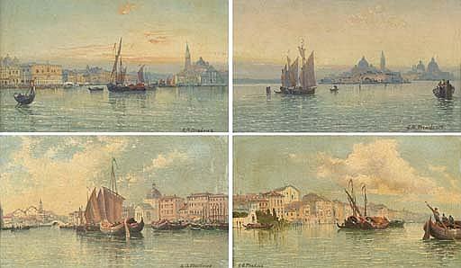 The Bacino di San Marco; The Venetian lagoon; Murano; Burano