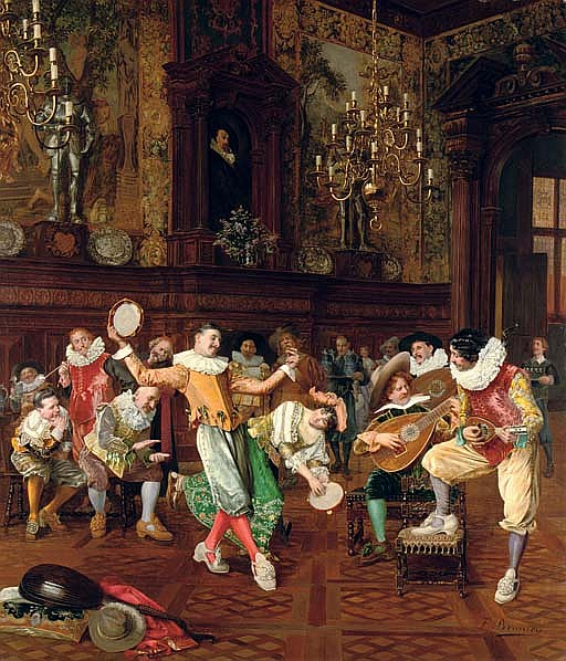 The court musicians