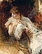 Signora Napoletana, Giuseppe de Nittis, Click for value