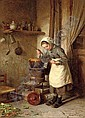 The young cook, Edouard Frere, Click for value