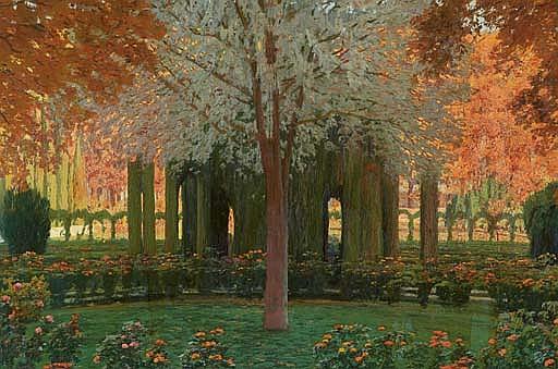 Glorieta de cipreses del Jardín del Príncipe, Aranjuez (The gardens at Aranjuez)