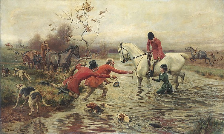 Alfred William Strutt (British, 1856-1924)