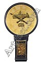 A George III painted tavern clock, circa 1780,  Door, Click for value