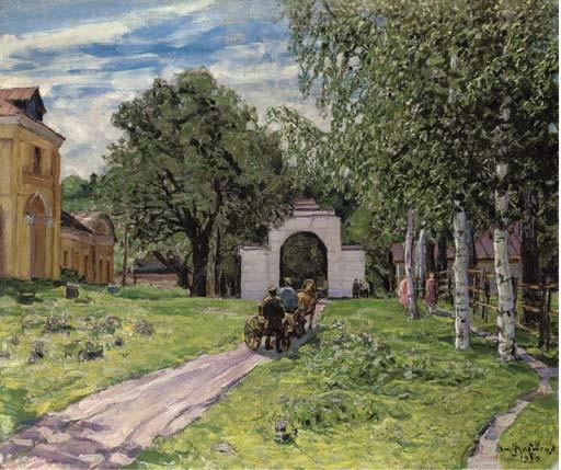 Apollinarii Mikhailovich Vasnetsov (1856-1933)