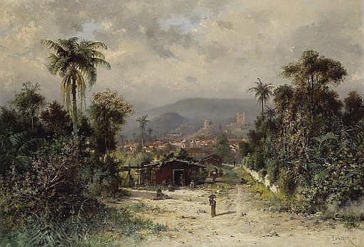 La Montagne de L'Or Noire [Ouro Preto], Brésil