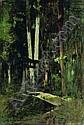 A forest shrine, Japan, Louis (1860) Dumoulin, Click for value