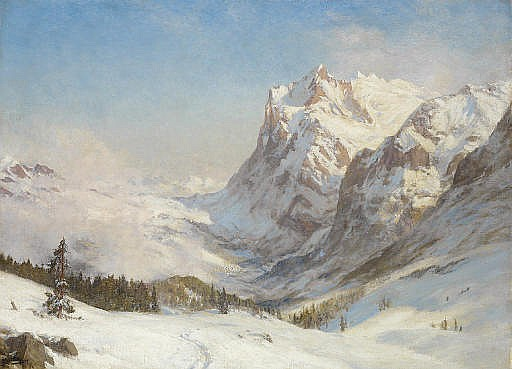 The Valley of Grindelwald: Winter