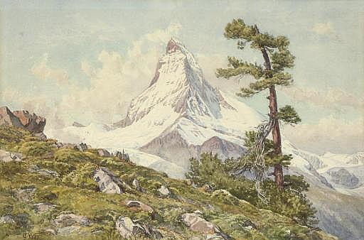The Matterhorn from the Riffel