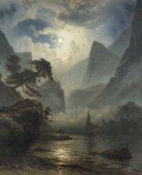 Knud Andreassen Baade (Norwegian, 1808-1879)