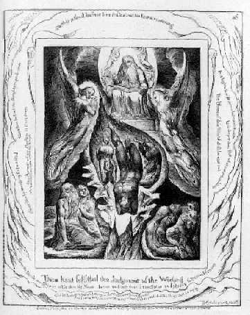WILLIAM BLAKE Sefer Iyov [Hebrew]. Illustrations of The Book of Job. Invented & Engraved by William