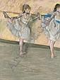 Danseuses à la barre , Edgar Degas, Click for value
