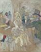 Au bal masqué de l'Elysée Montmartre , Henri de Toulouse-Lautrec, Click for value