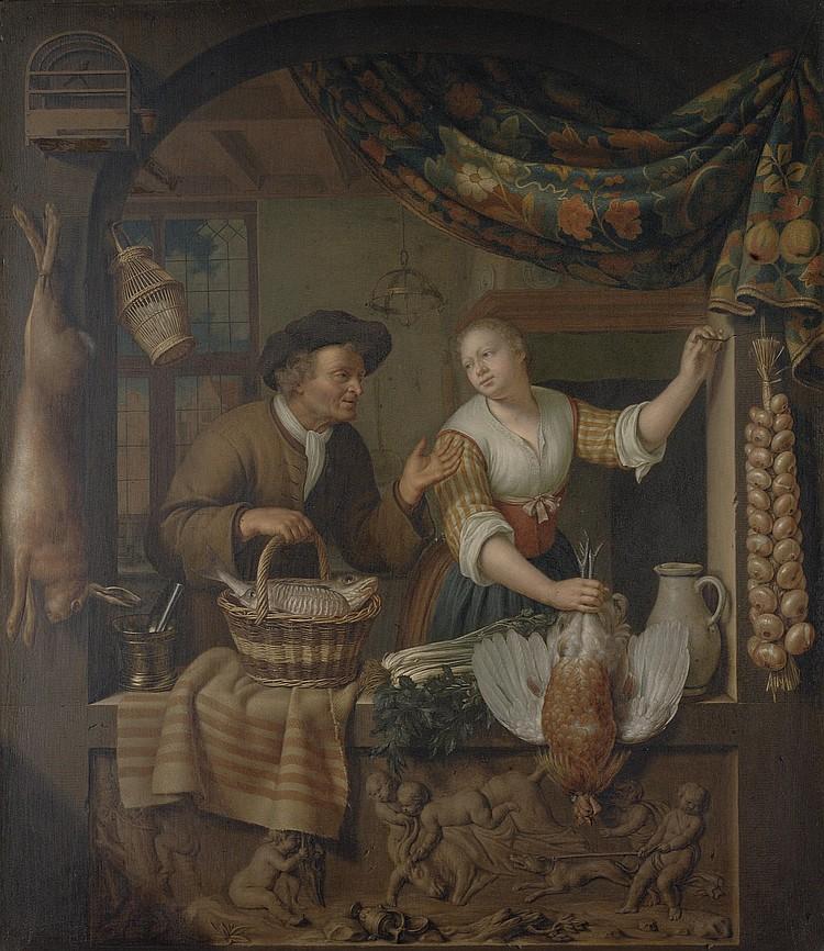 Frans van Mieris II (Leiden 1689-1763)