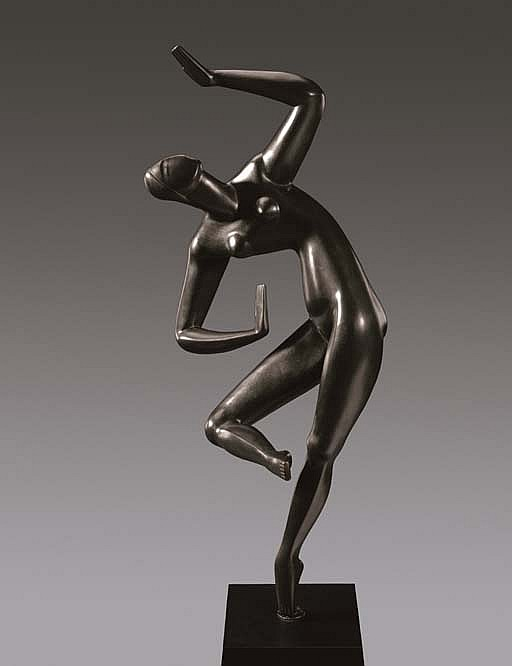 alexander archipenko works on sale at auction biography. Black Bedroom Furniture Sets. Home Design Ideas