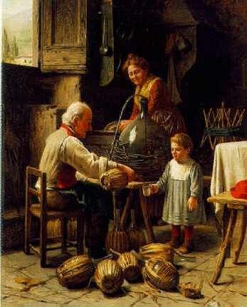 GIOVANNI SANDRUCCI (ITALIAN, 19TH CENTURY) A Taste of Wine