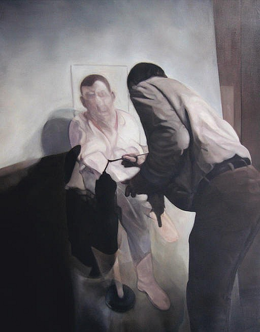 Painter painting, Painted (after Francis Bacon)