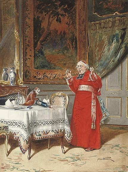 Alfred Weber (Swiss, 1859-1922)