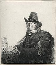 Rembrandt Van Rijn, Etching & Drypoint: JAN ASSELYN, PAINTER (
