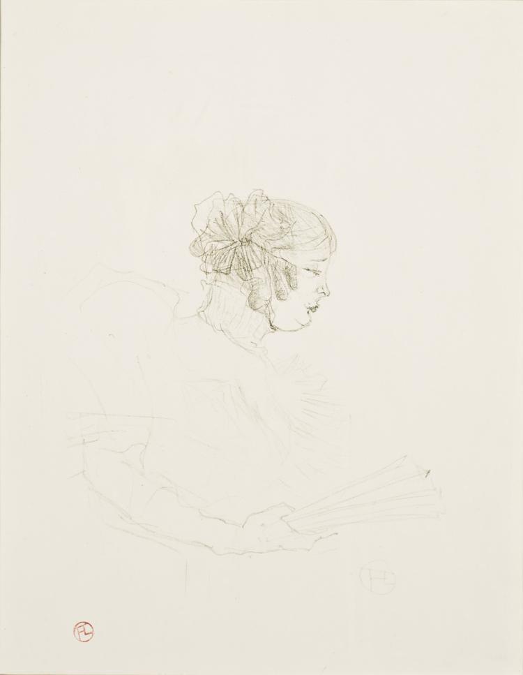Henri de Toulouse-Lautrec, Lithograph: Luce Myres, De Profil