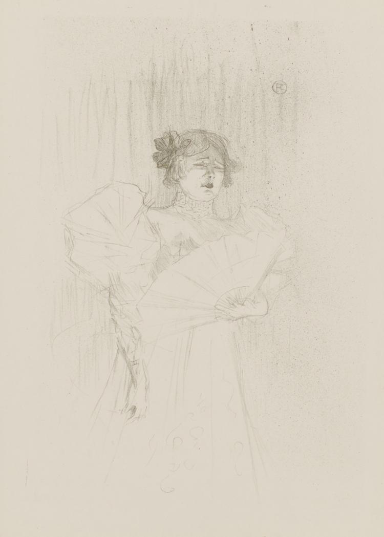 Henri de Toulouse-Lautrec, Lithograph: Luce Myres, De Face