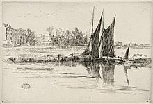 James Abbott McNeill Whistler, Etching: HURLINGHAM