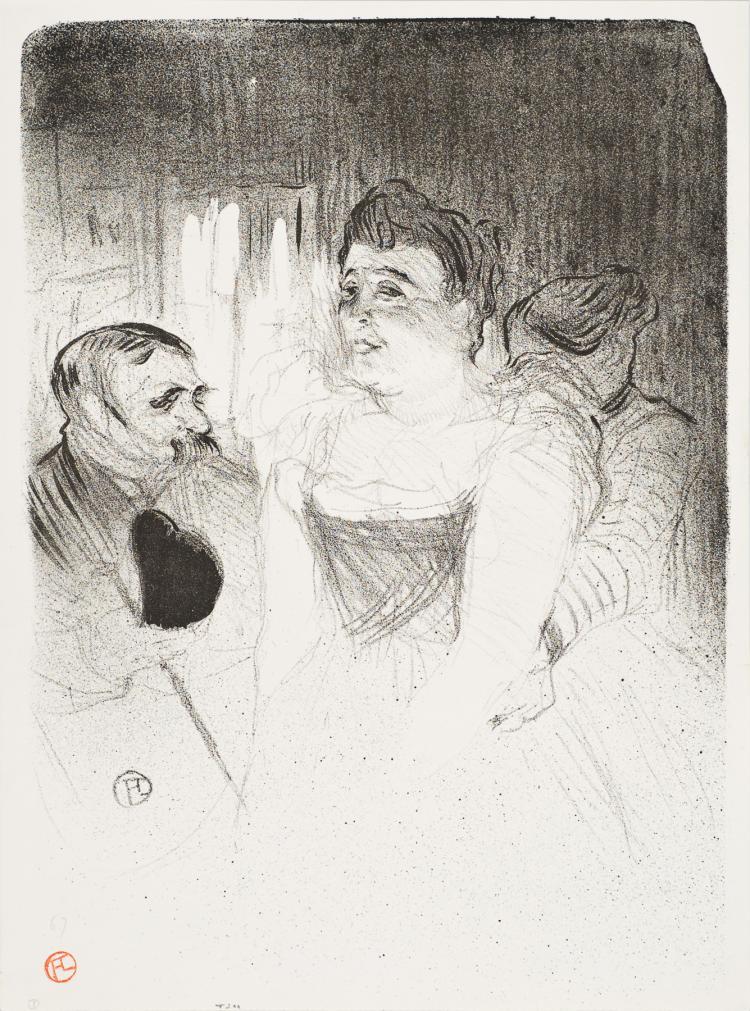 Henri de Toulouse-Lautrec, Lithograph: Judic