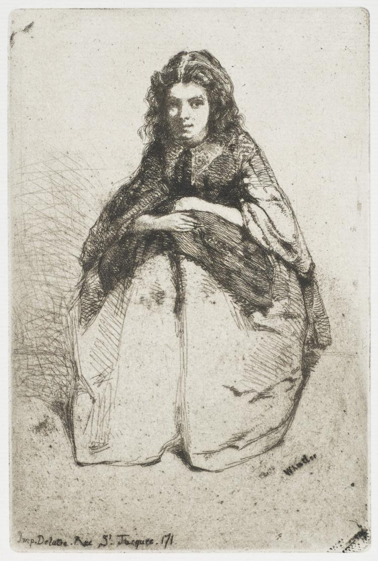 James Abbott McNeill Whistler, Etching: FUMETTE