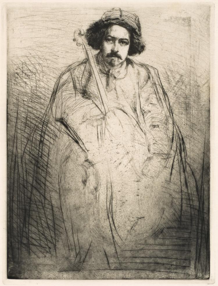 James Abbott McNeill Whistler, Etching & Drypoint: Becquet