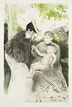 Louis Legrand, Etching, Drypoint, & Aquatint: Le Parisien