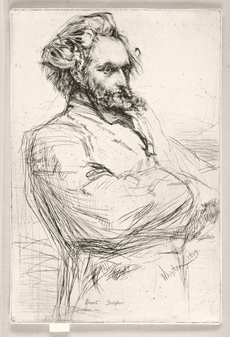 James Abbott McNeill Whistler, Etching: DROUET