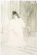 Henri de Toulouse-Lautrec, Lithograph: CECY LOFTUS