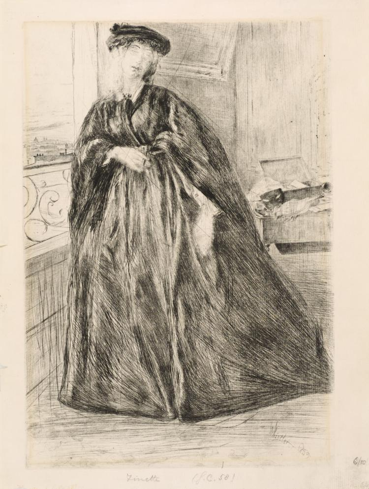James Abbott McNeill Whistler, Drypoint: FINETTE