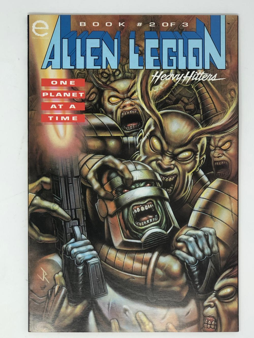 MARVEL, ALIEN LEGION book 2 of 3 one planet at a time