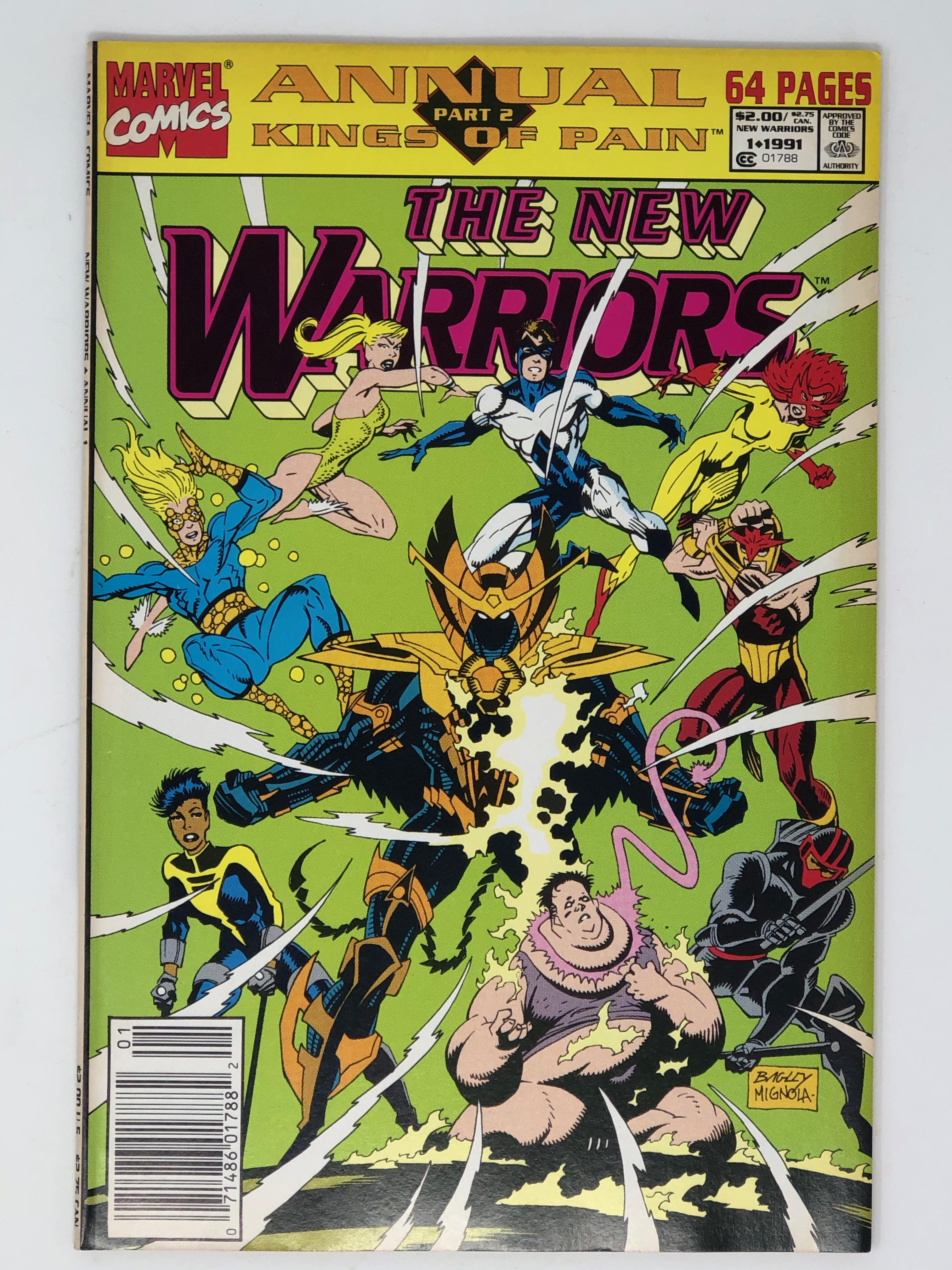 MARVEL, THE NEW WARRIORS Part 2