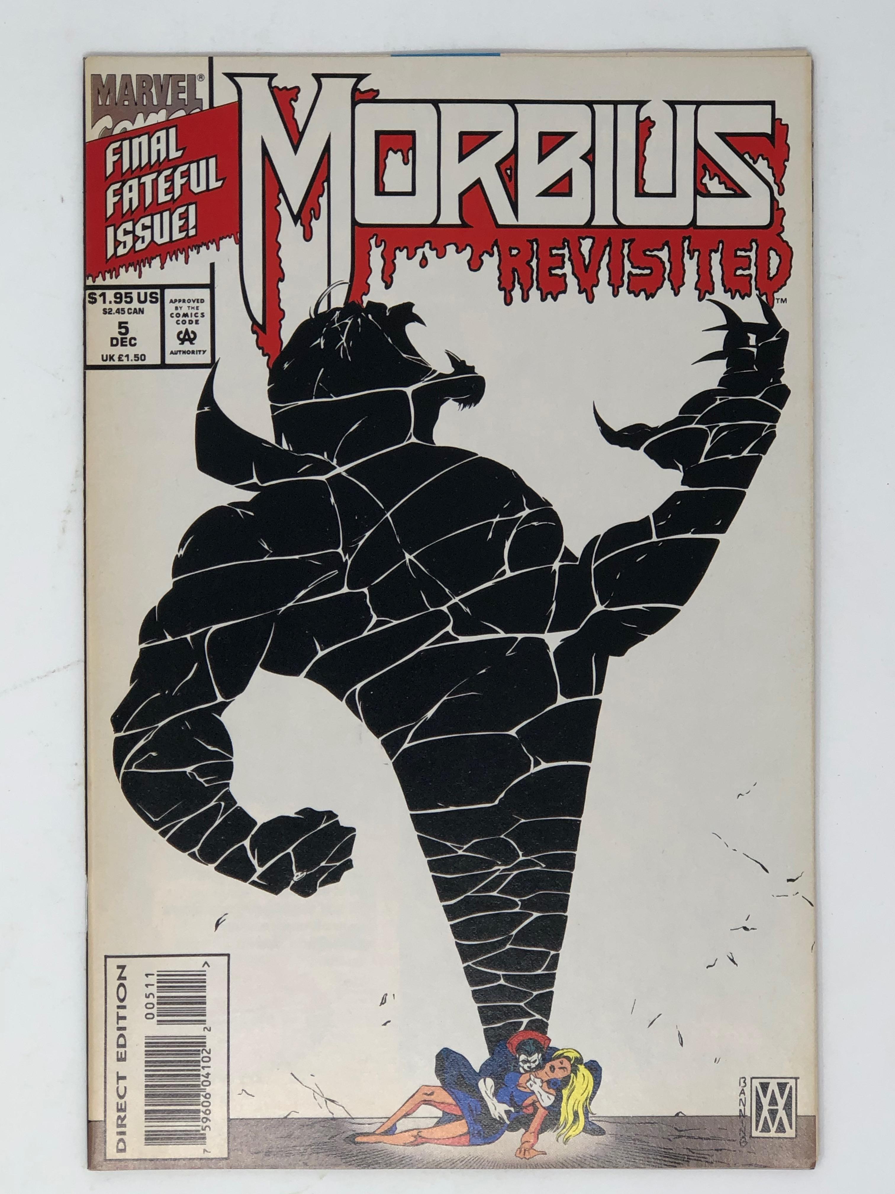 MARVEL, MORBIUS final fateful issue revisited 5