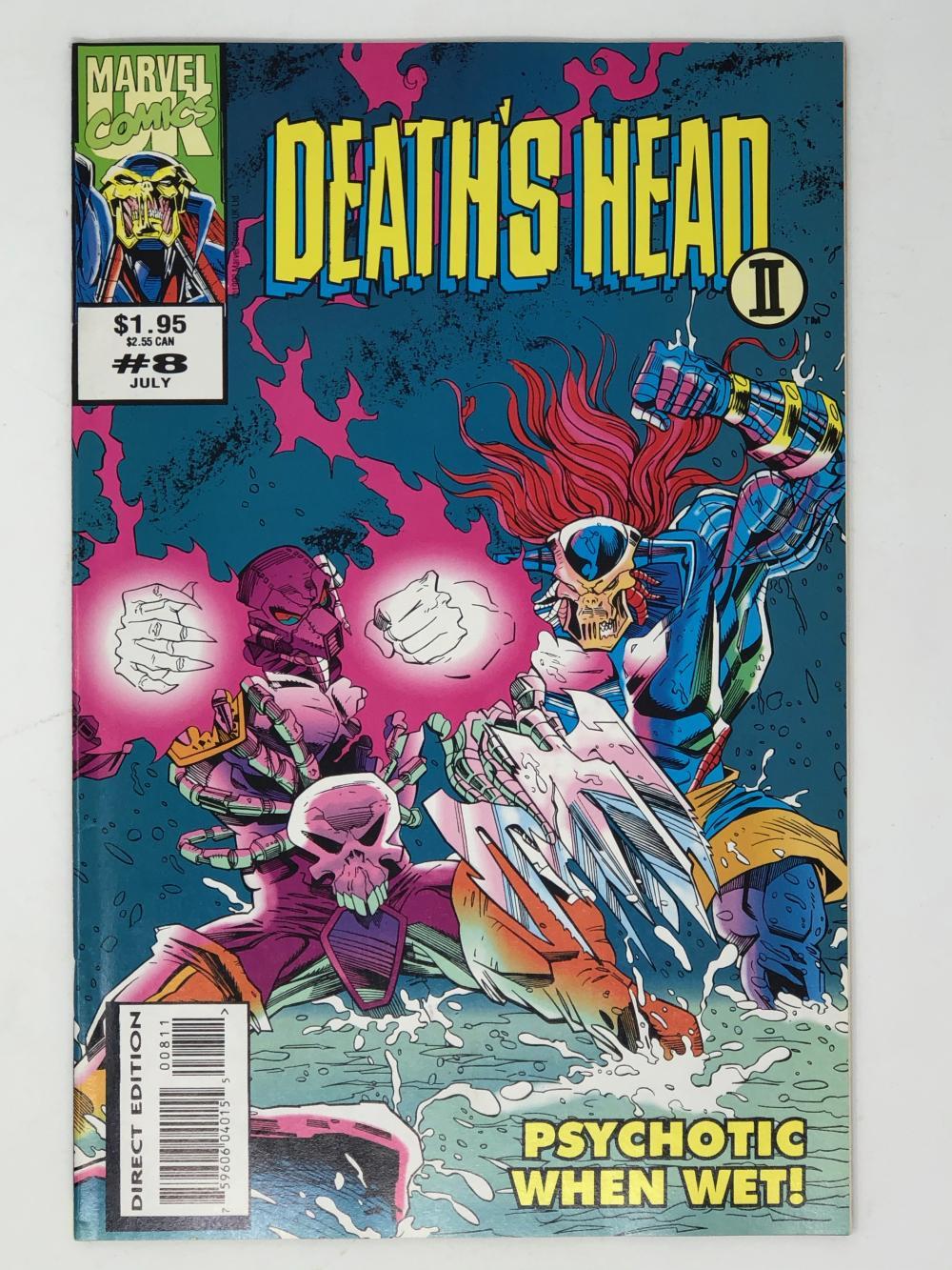 MARVEL, DEATH'S HEAD II vol 2 8