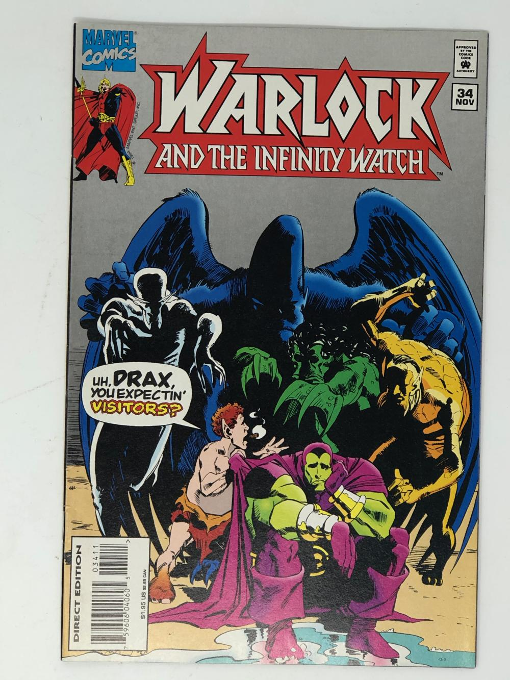MARVEL, WARLOCK and the infinity watch 34