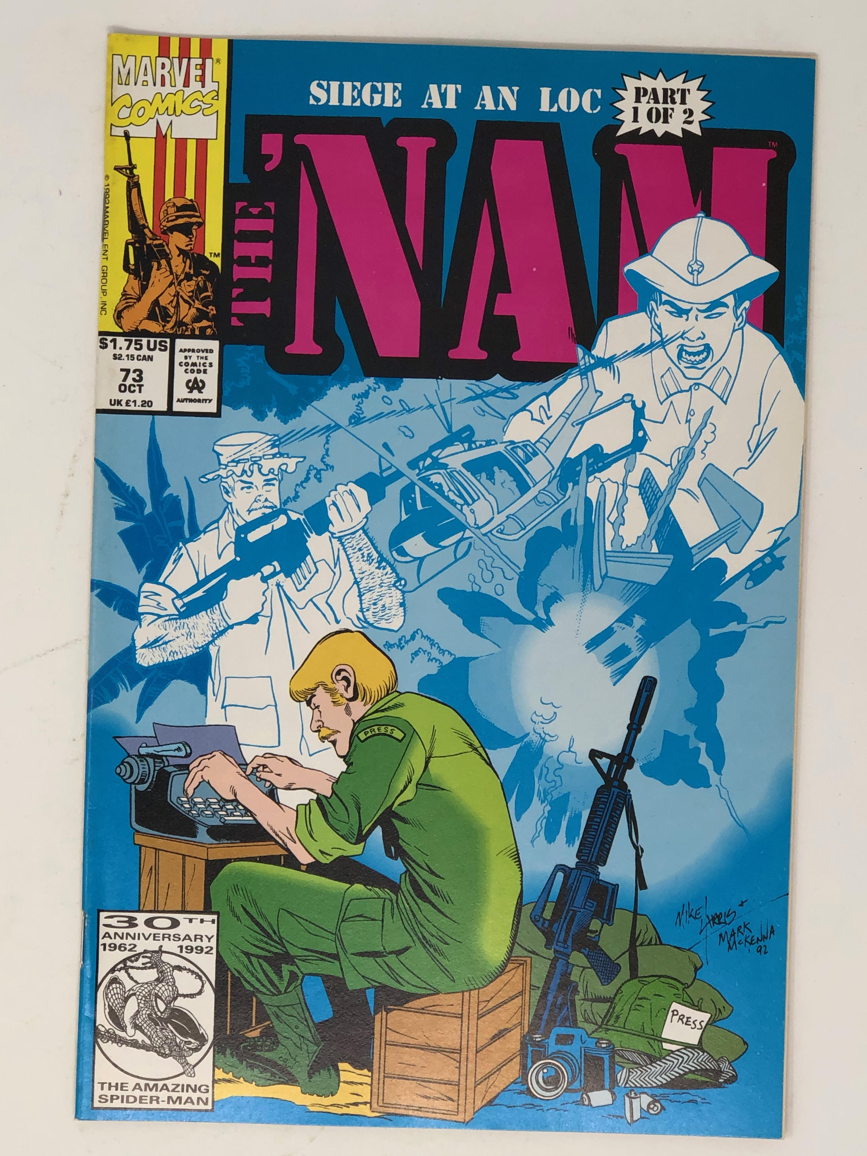 MARVEL, siege at an loc part 1 of 2 the NAM 73